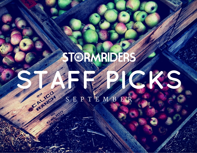 Stormies Staff Picks for September!!