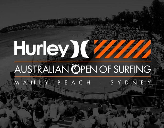 Hurley Australian Open on Surfing 2015